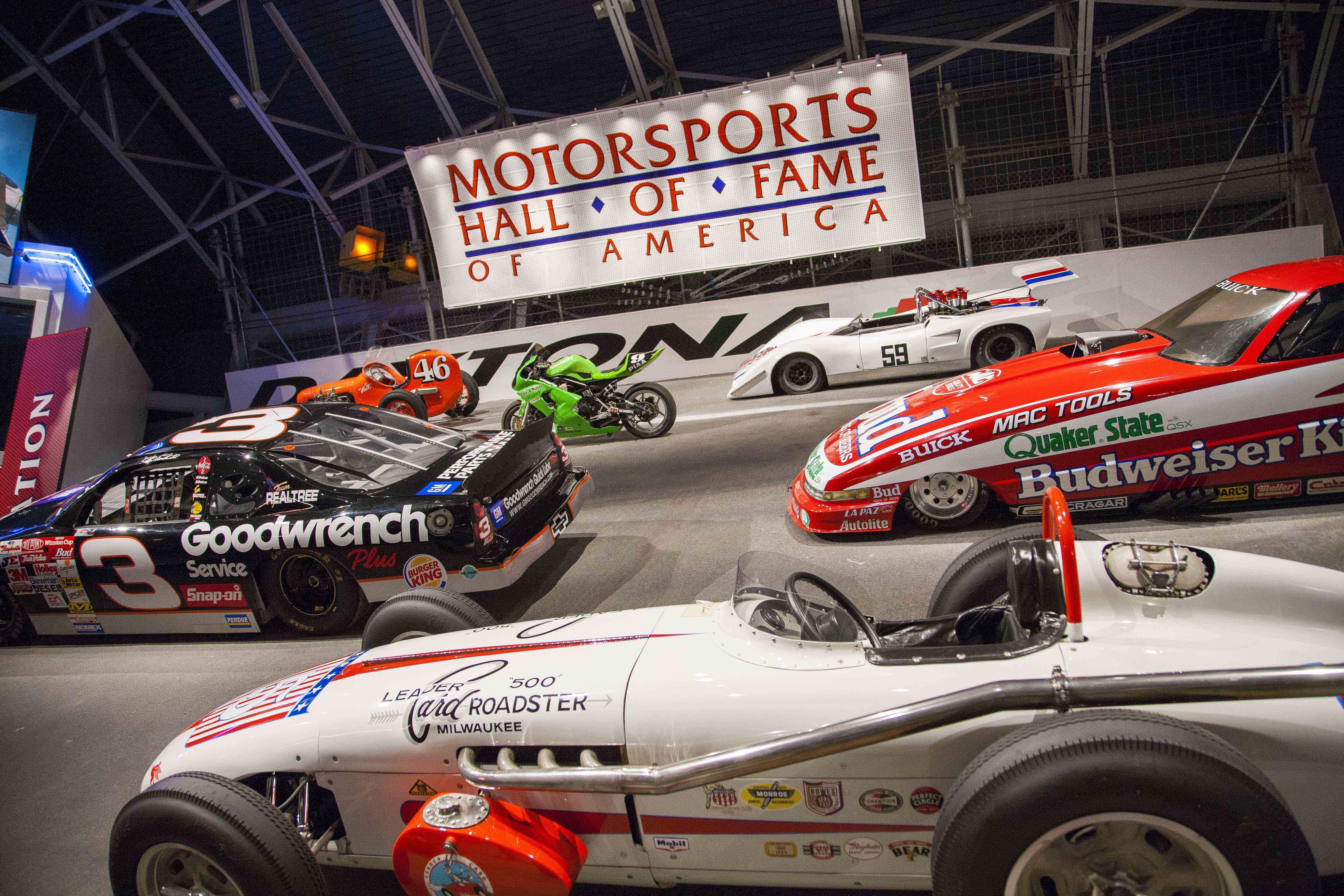 Jack Rouse Associates Exhibit Motorsports Hall of Fame of America