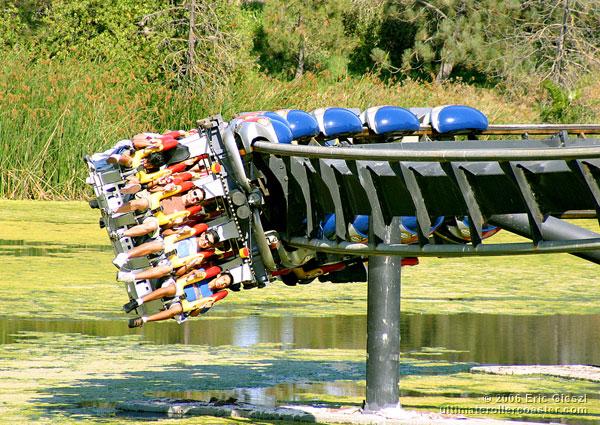 flightdeck at californias great america rollercoaster
