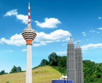 LEGOLAND Malaysia Miniland - KL Cluster t