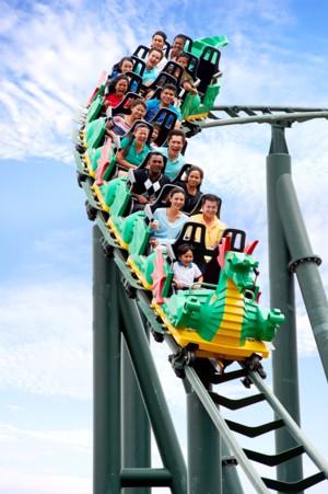 LEGOLAND Malaysia TheDragon rollercoaster