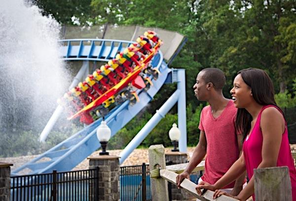 Griffon rollercoaster at busch gardens williamsburg