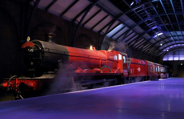 Exclusive reveal of the Hogwarts Express - at Warner Bros. Studio Tour London