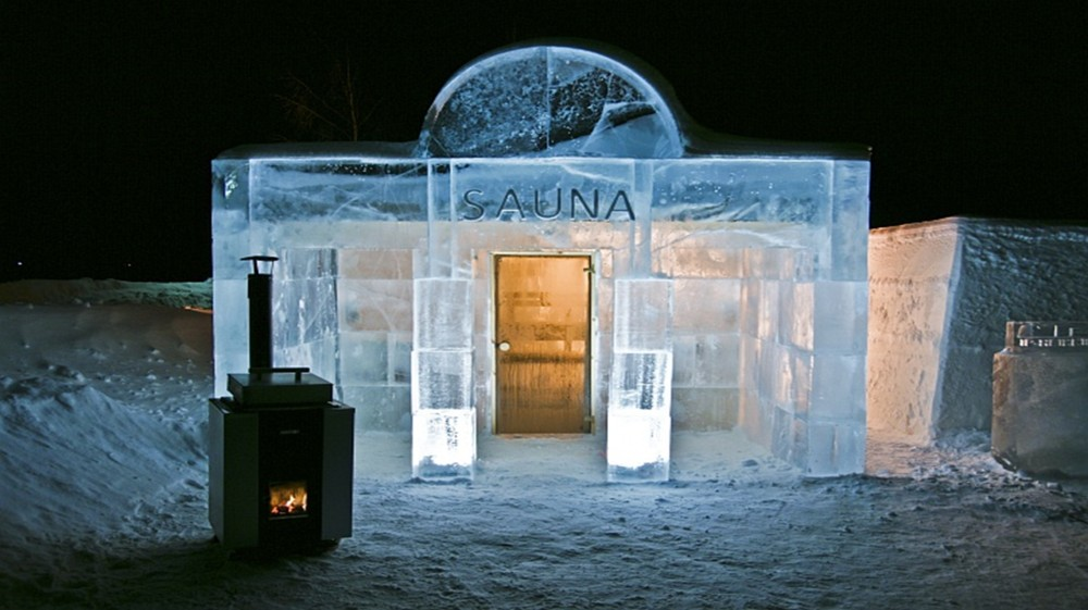 Frozen innovations sauna