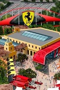 Ferrari Land PortAventura Spain