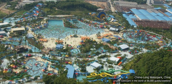Chimelong waterpark Alan Mahony