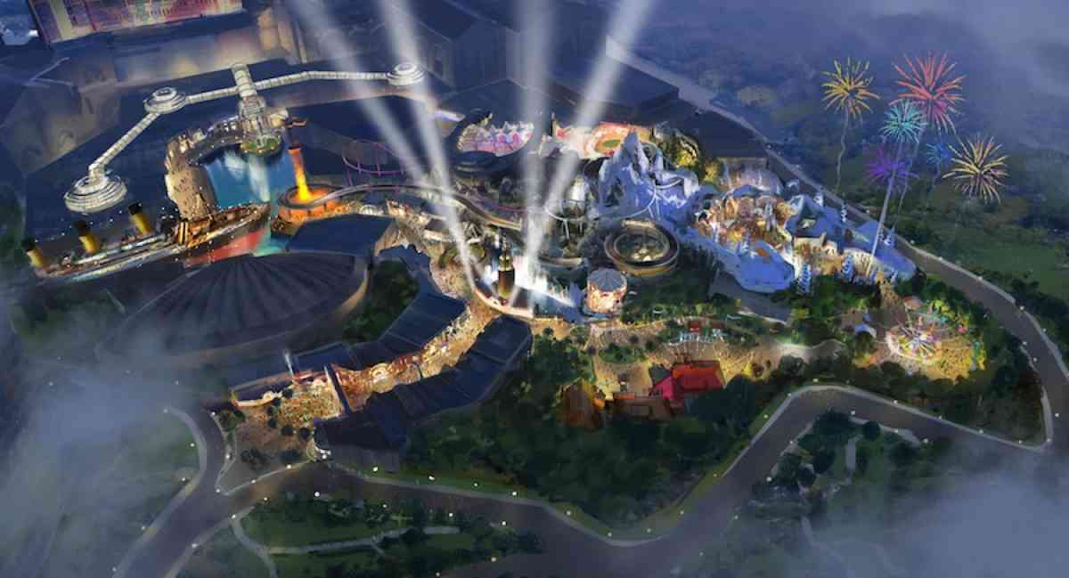 Artists impression of the new theme park in Malaysia