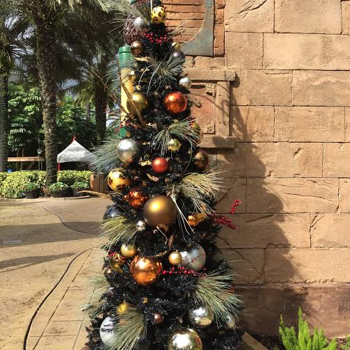 Christmas Tree at Busch Gardens Tampa