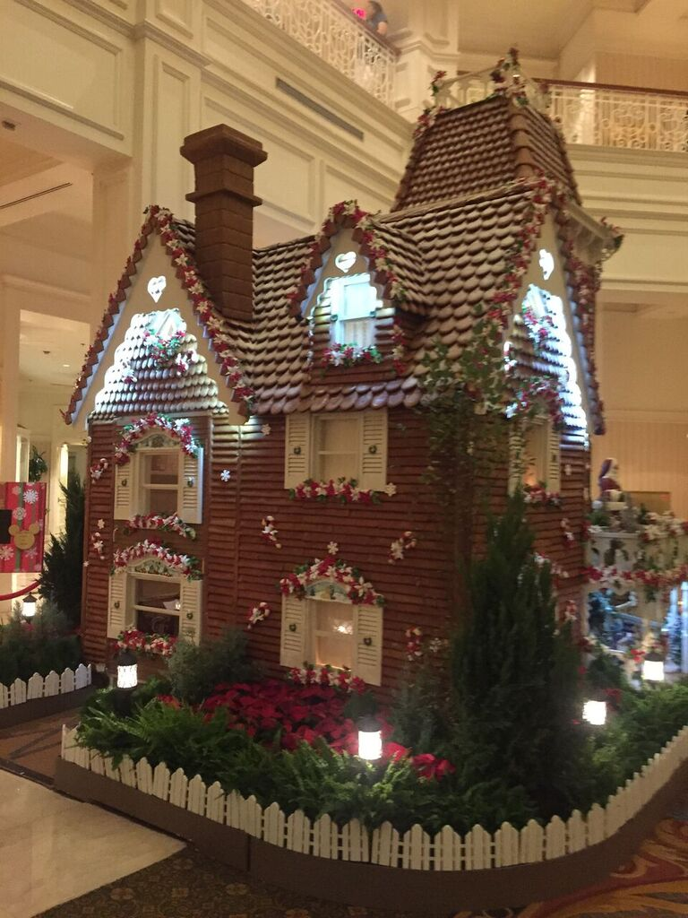 Gingerbread Display at the Grand Floridian Walt Disney World Resort