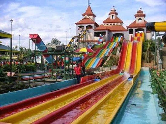 Water Slides Wonderla Park Bangalore,  India