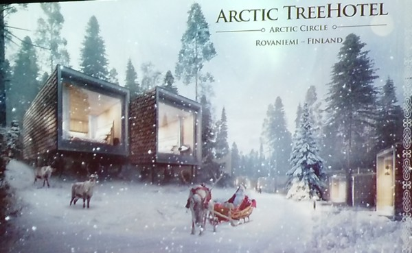 Arctic tree hotel santa park