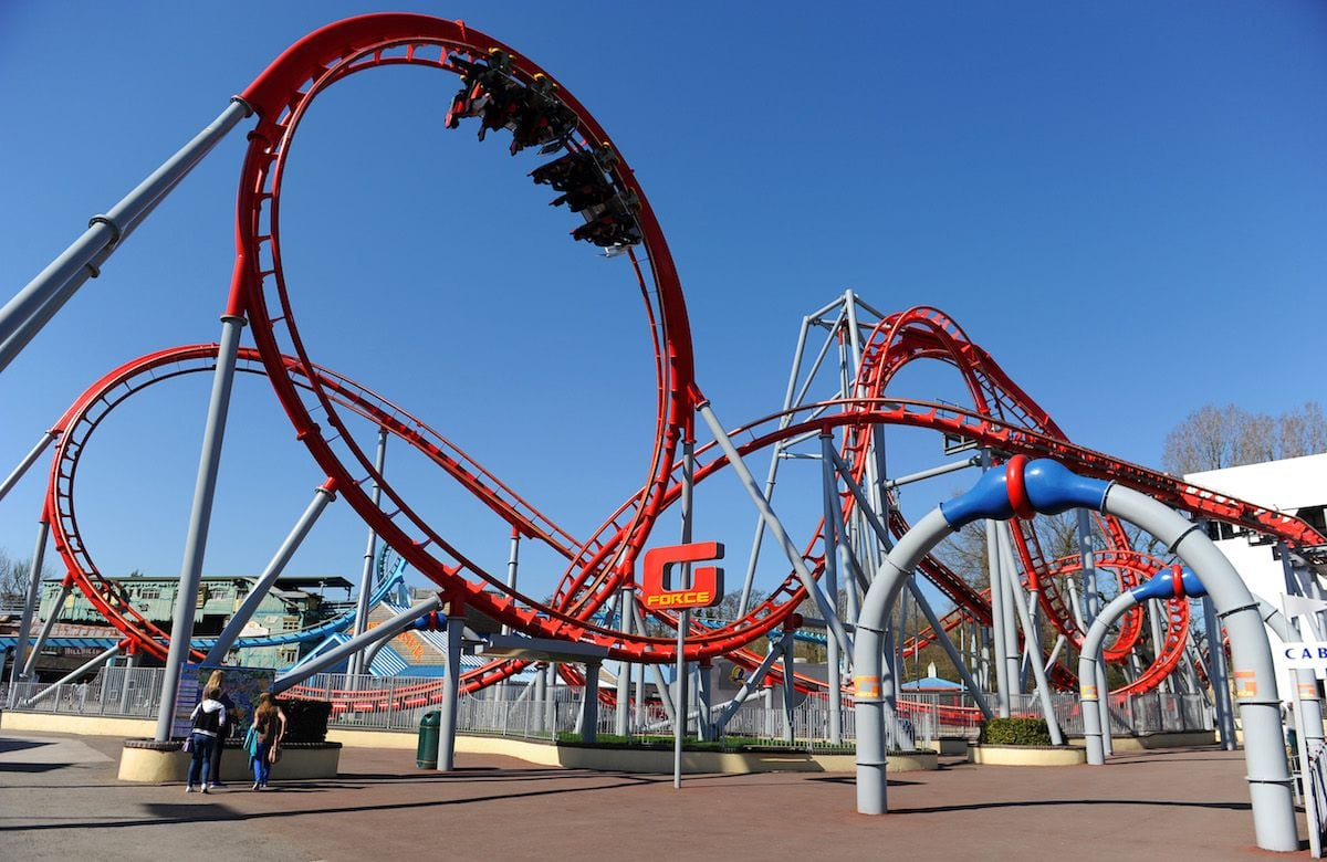 g force roller coaster drayton manor theme park Blooloop