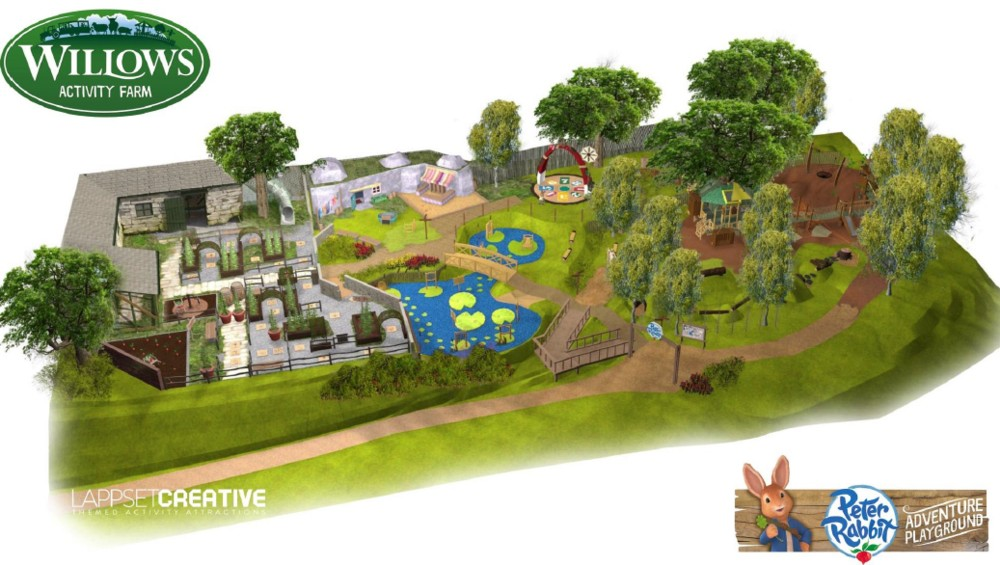 Peter Rabbit Adventure Playground Willows Activity Farm Lappset