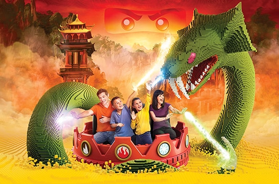 Ninjago the Ride Legoland