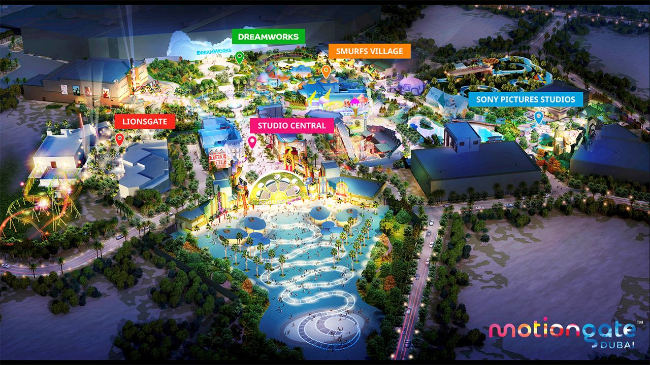 motiongate theme park Dubai parks and resorts