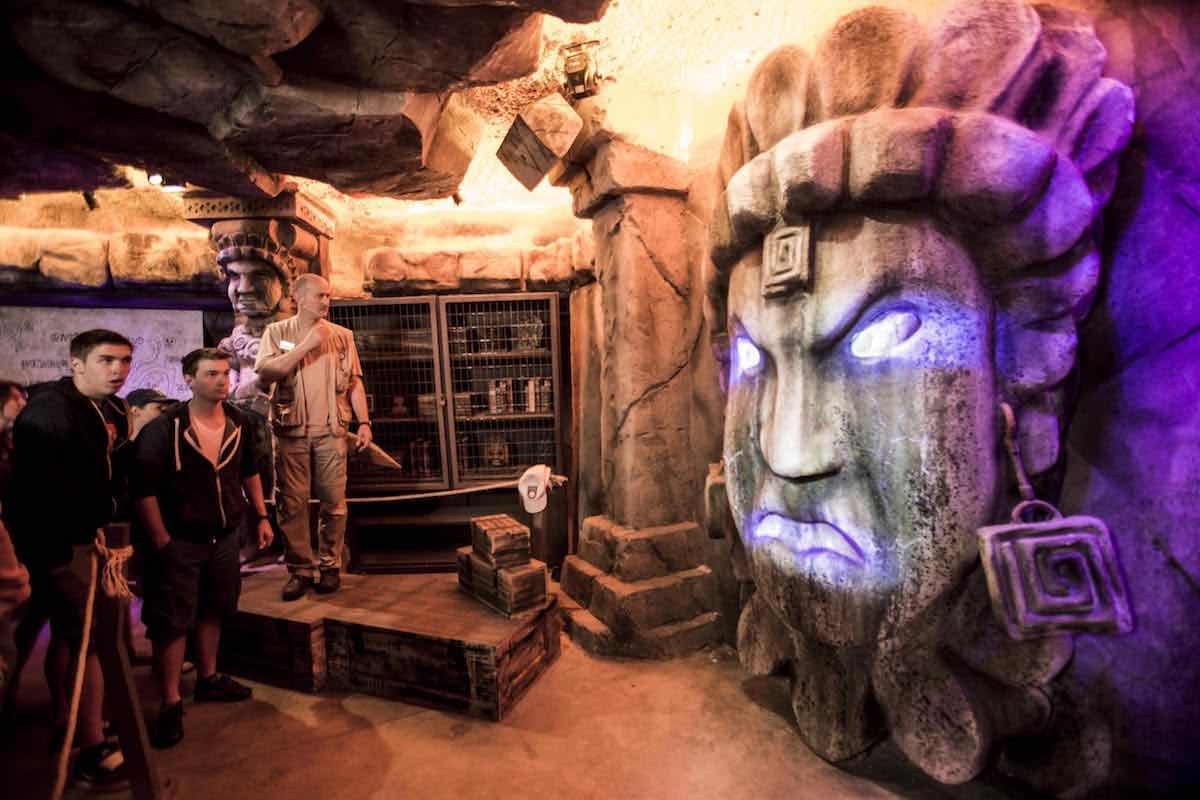 forbidden caves at bobbejaanland
