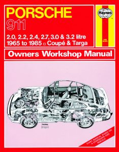 porche owners manual by haynes