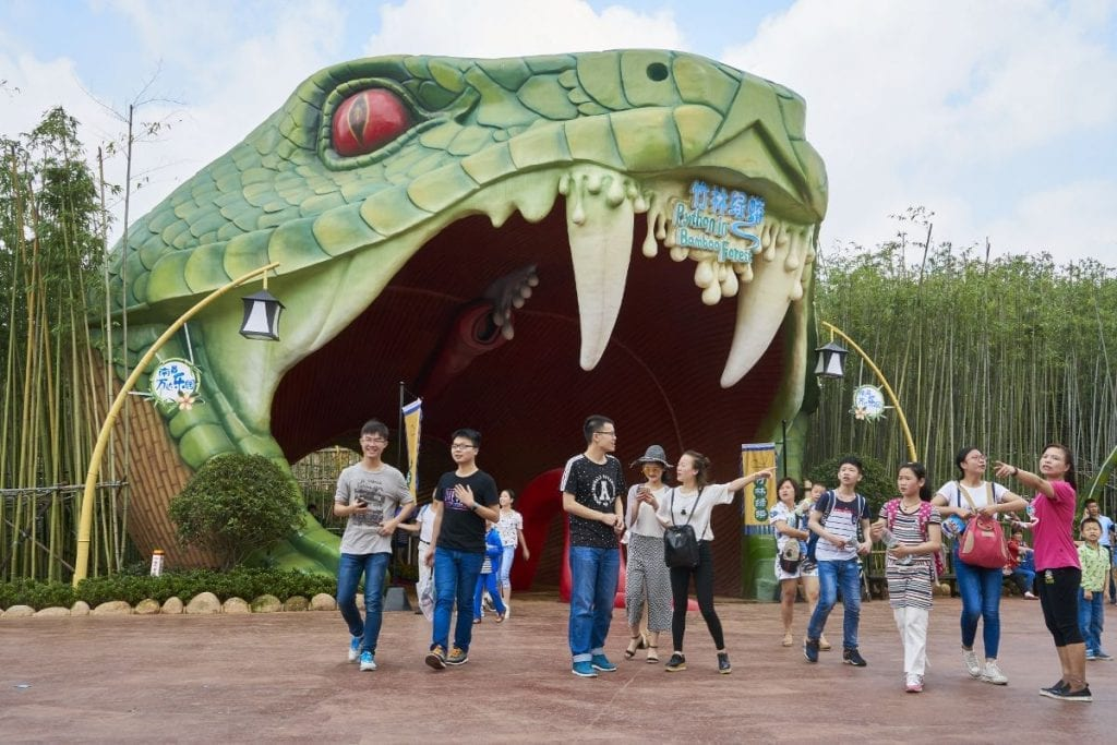 Landscape and Local Culture: The Wanda Nanchang Theme Park Story