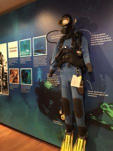 Honor Frost SCUBA Diving Ashmolean Museum