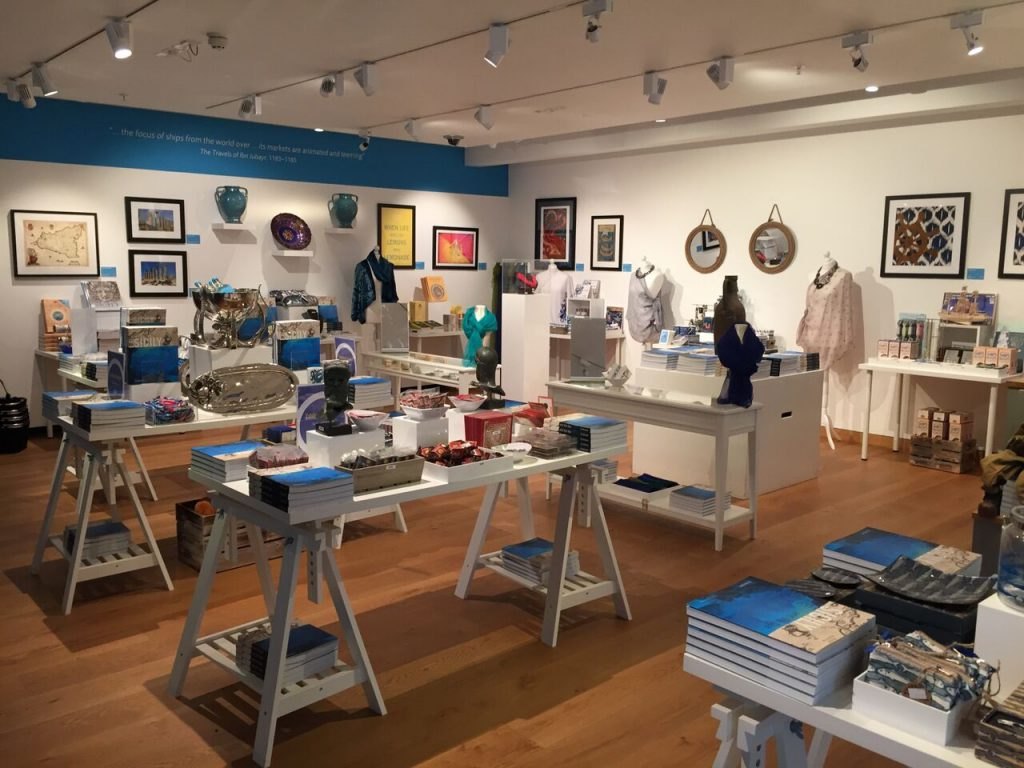 Gift Shop Storms,  Wars and Shipwrecks The Ashmolean