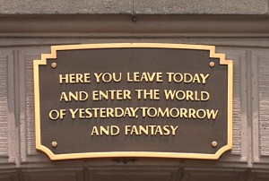 Disneyland Resort Plaque
