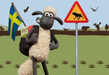 Shaun the Sheep's world at Skånes Djurpark