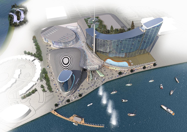 Cardiff International Sports Village Ray Hole Architects