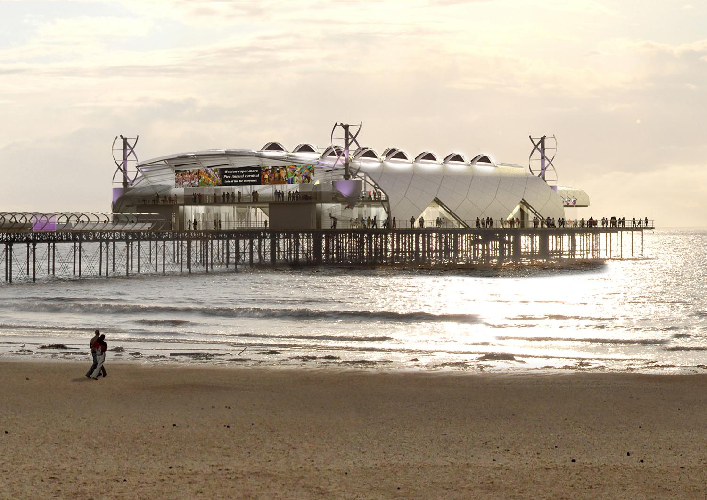 Weston Super-Mare Pier Ray Hole Architects
