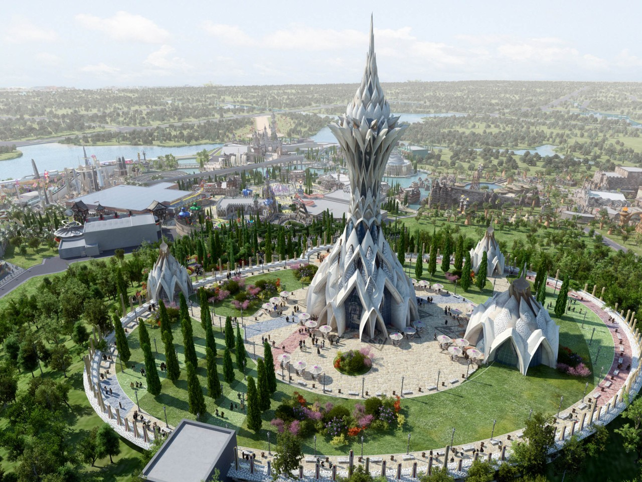 Liuzhou Happy Valley Theme Park Guangxi Province Blooloop