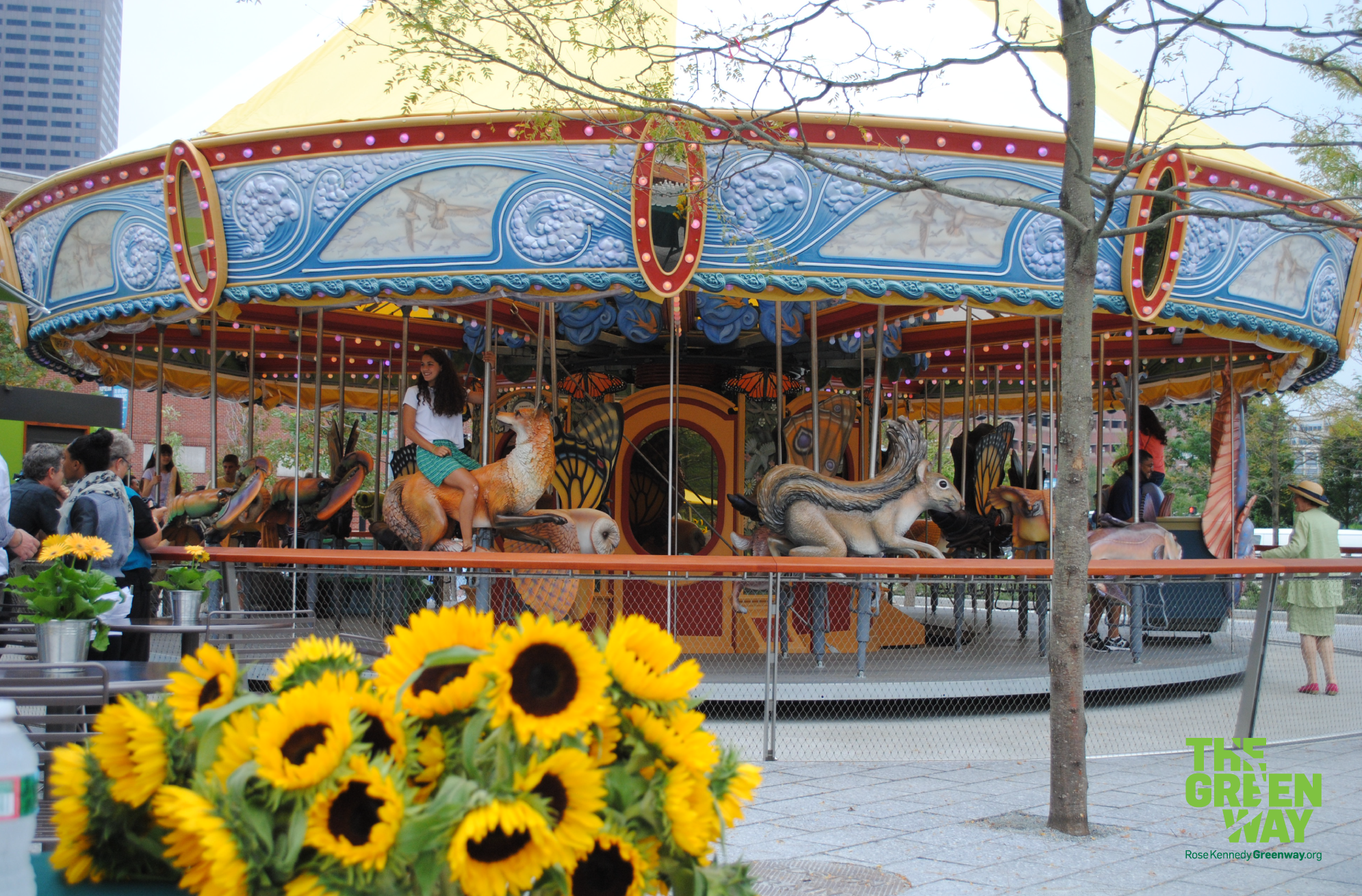 Greenway Carousel Ride Entertainments