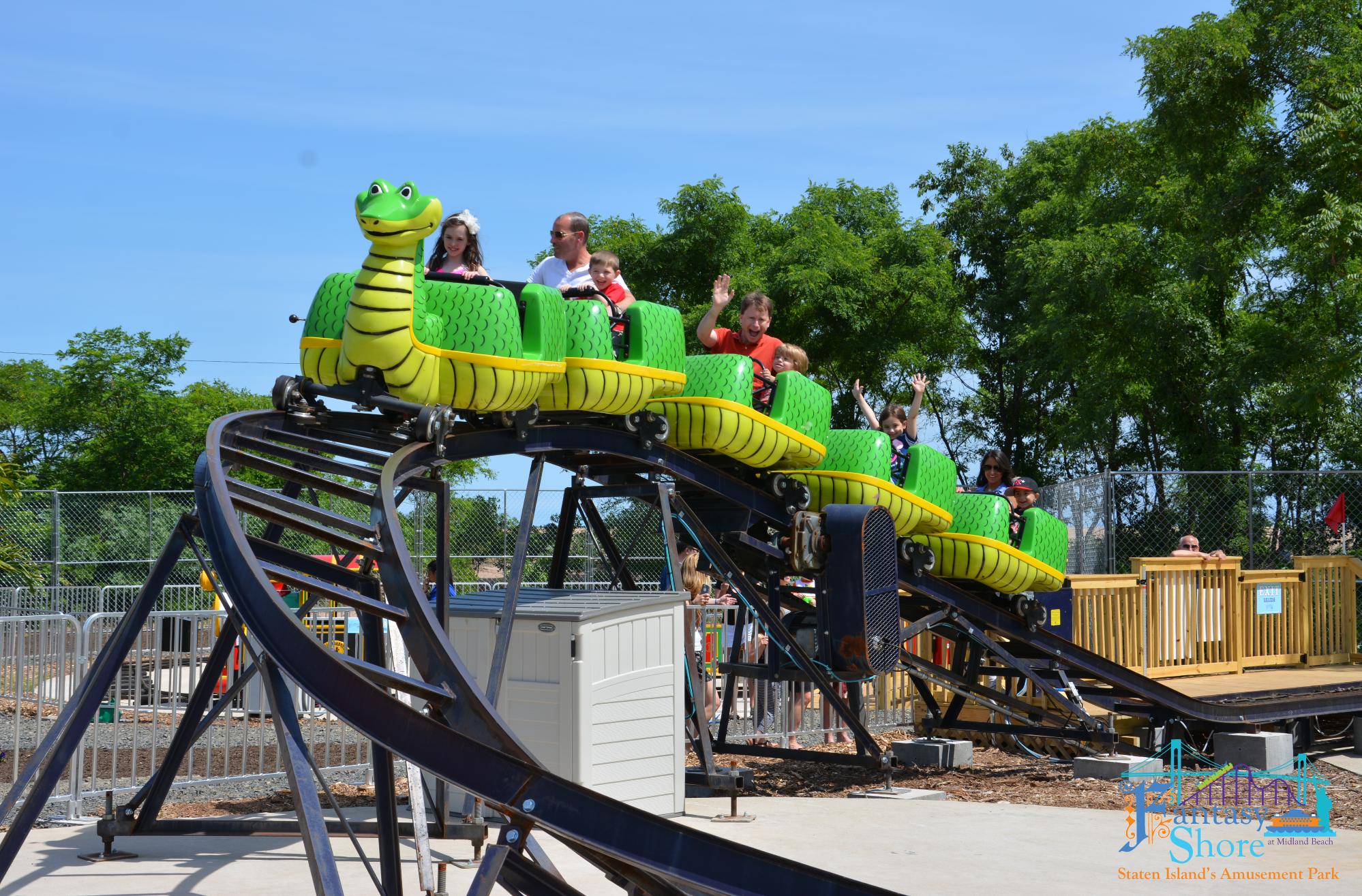Verrazano Viper, Staten Island's only roller coaster Ride Entertainments