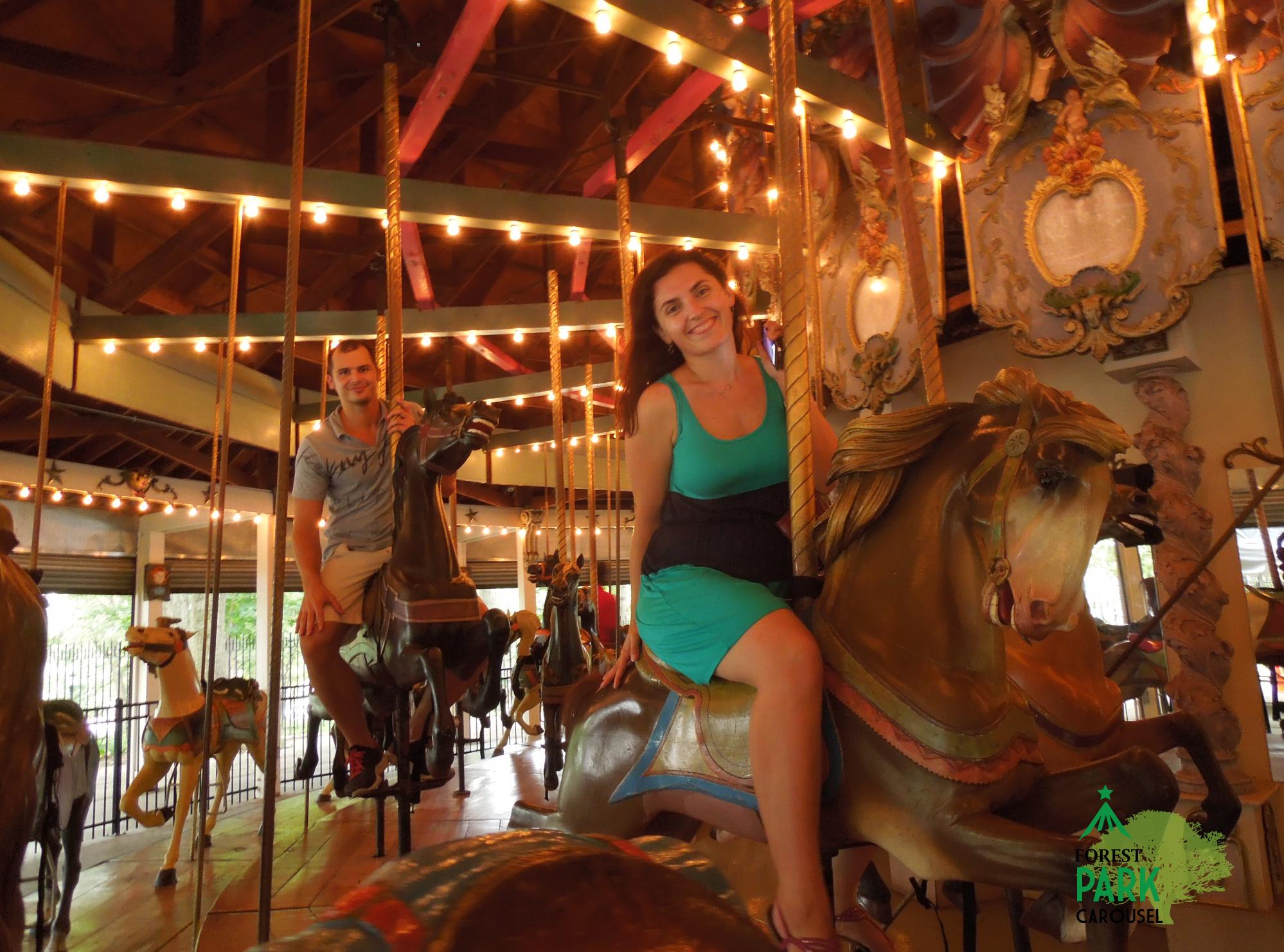 Historic Carousel master carver Daniel Mueller Ride Entertainments