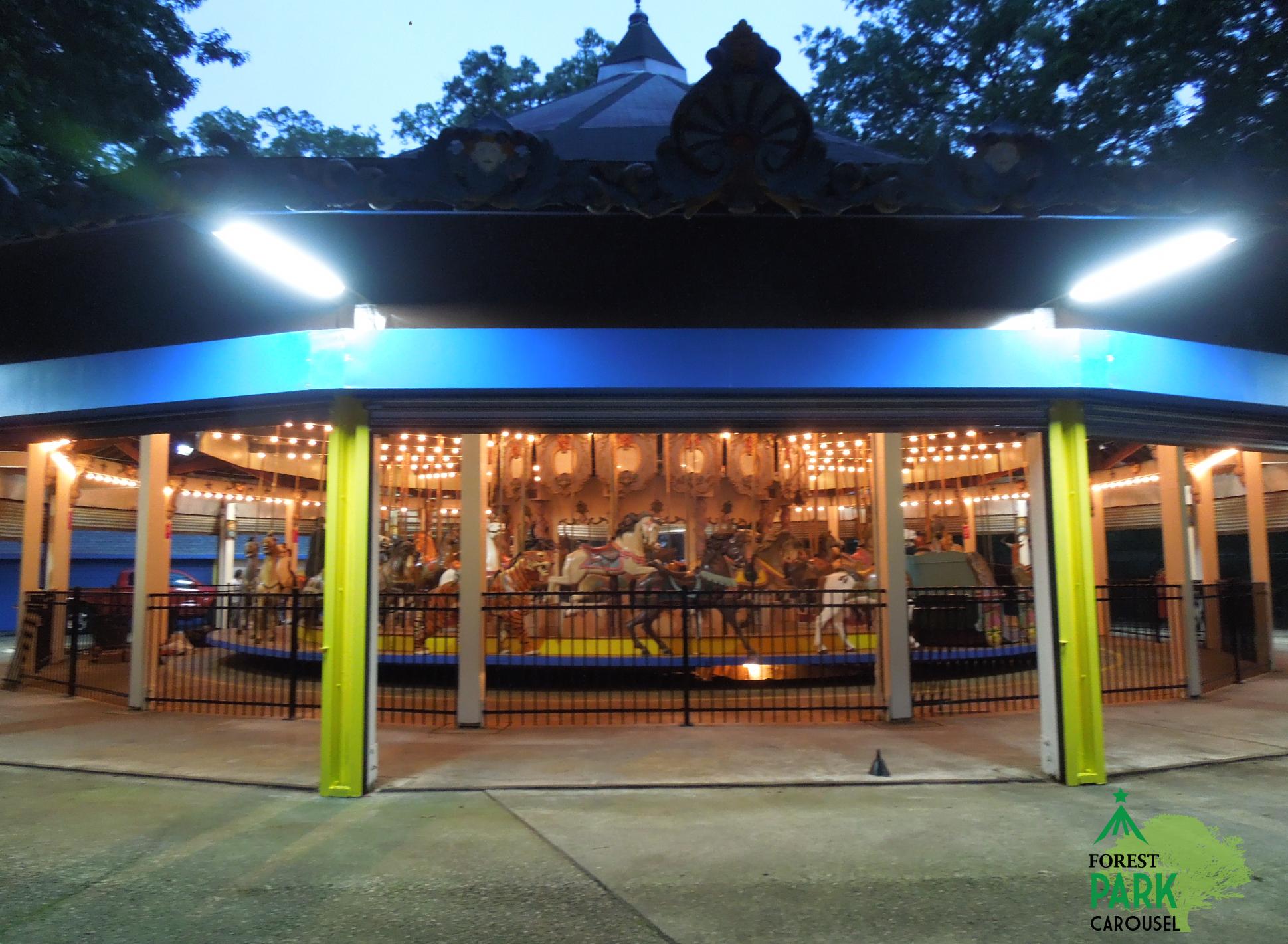 Forest Park Carousel Ride Entertainments