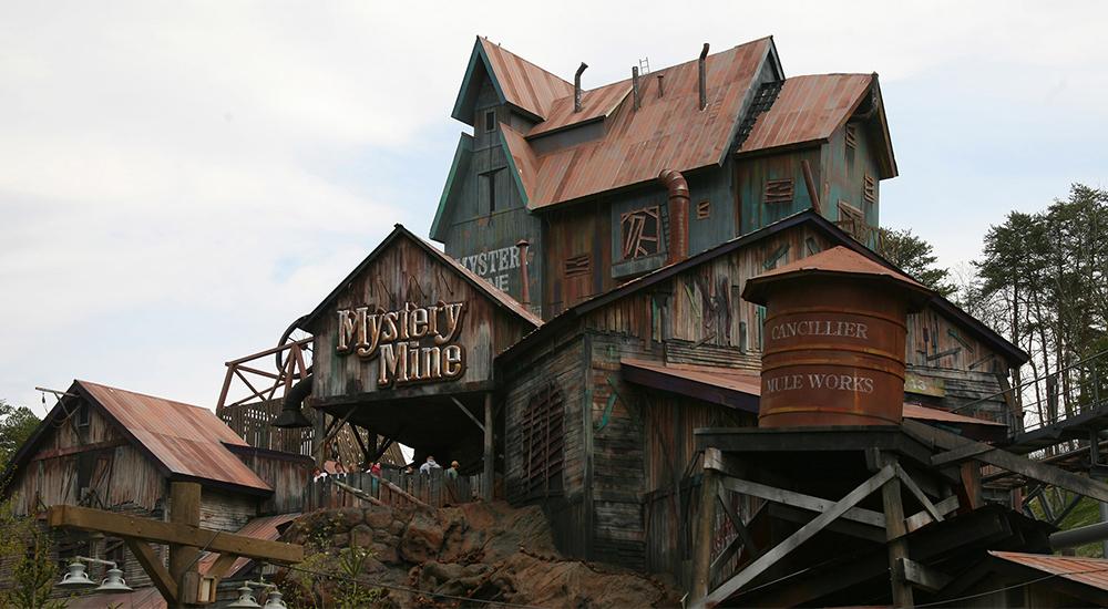 Dollywood Mystery Mine Forrec