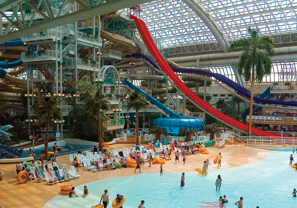 West Edmonton Mall, World Water Park Forrec