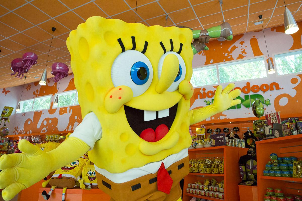 Sponge Bob Nickelodeon Parques Reunidos