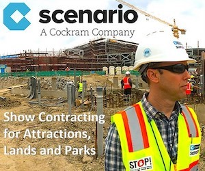 scenario theme park construction