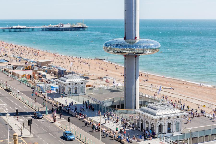ba i360 beach view