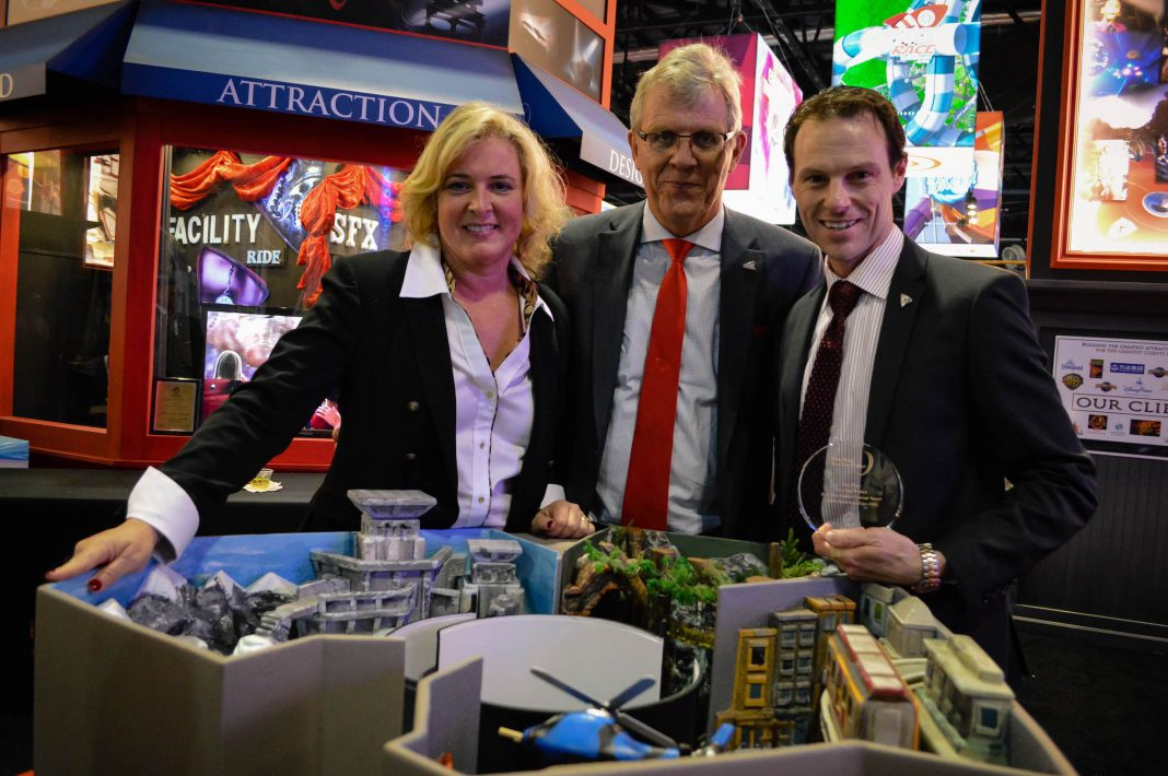 dynamic attractions wins iaapa brass ring award