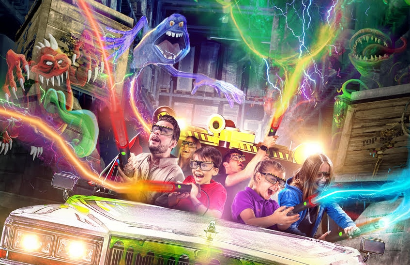 Scruffy Dog partners Merlin & Triotech to create Heide Park's Ghostbusters 5D dark ride