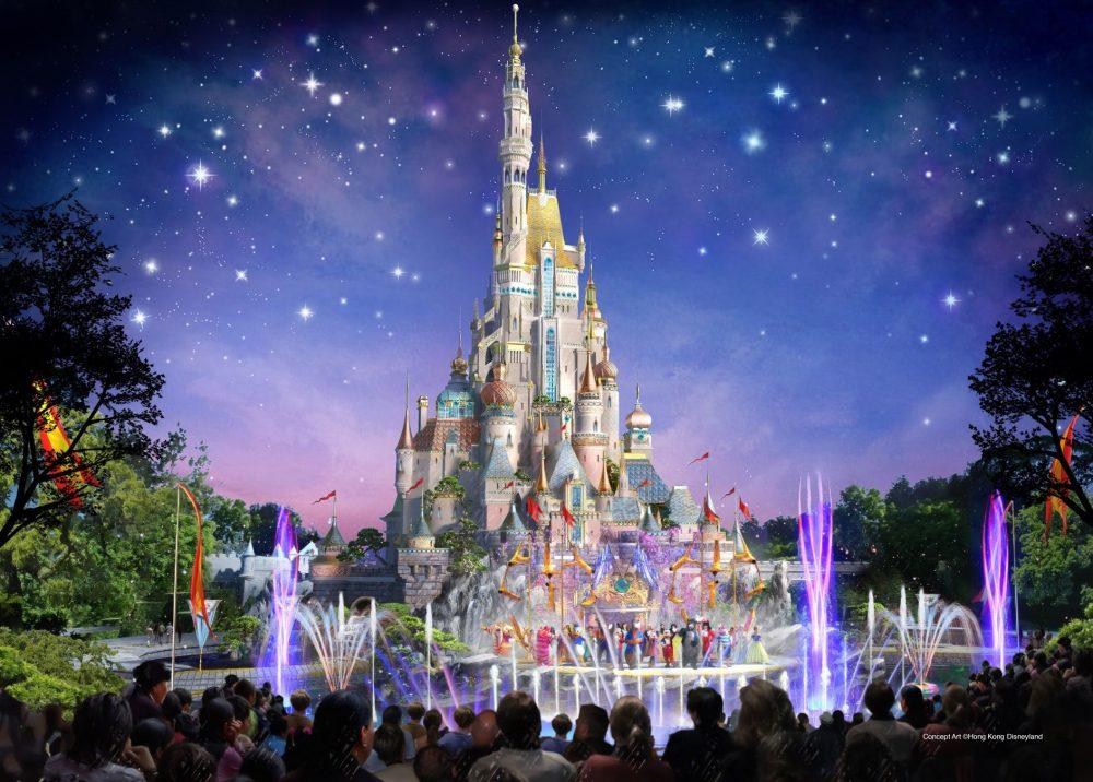 Hong Kong Disneyland expansion Castle