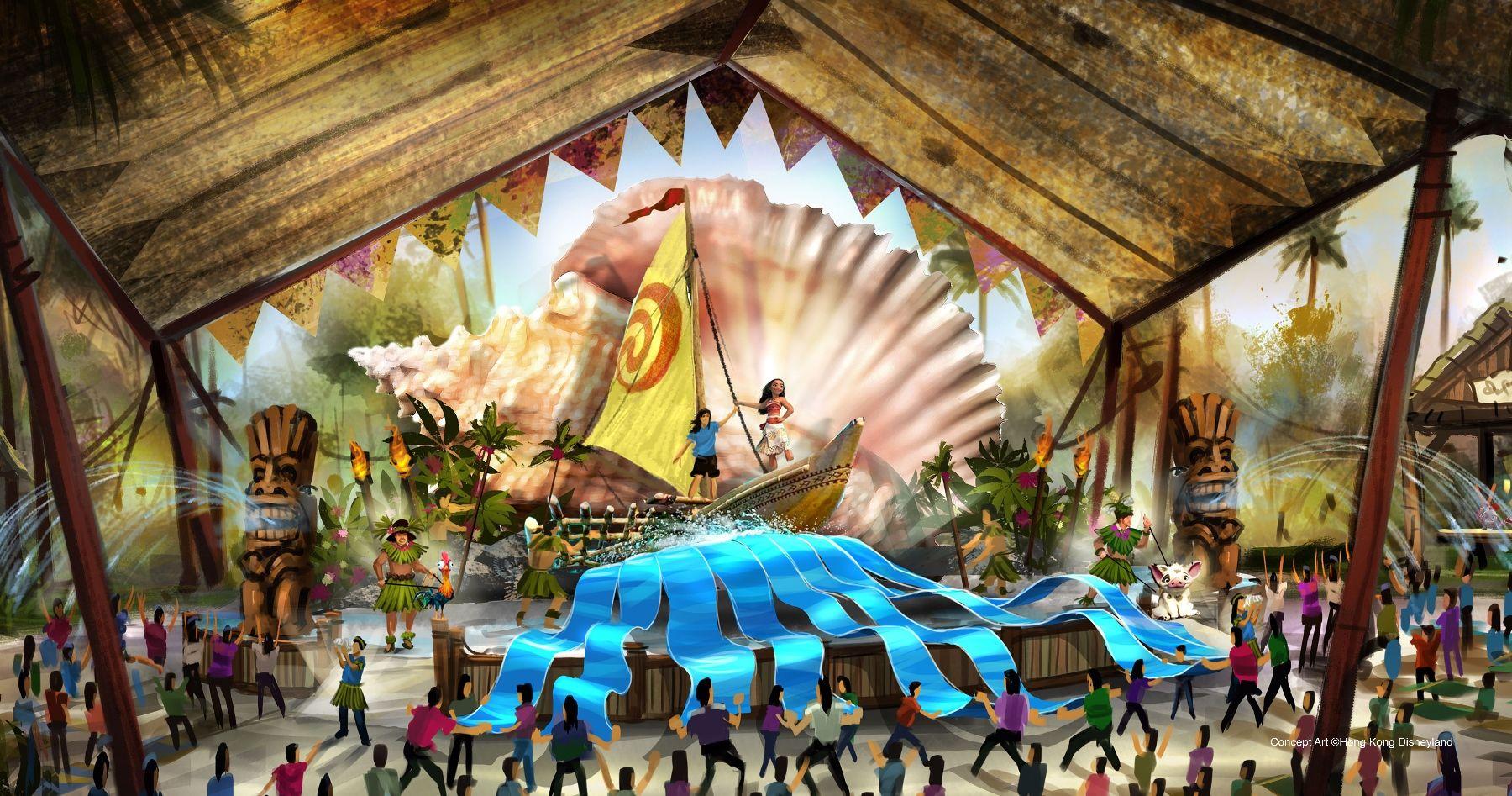 Hong Kong Disneyland Adventureland Show Place