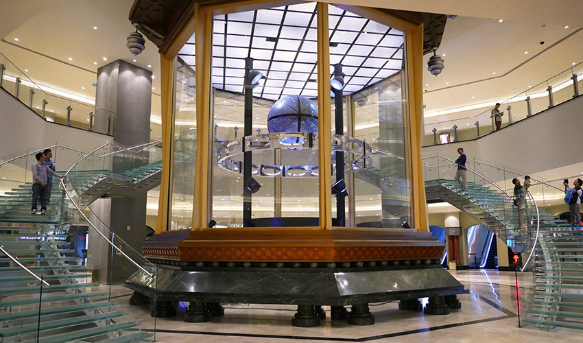 Orb of Infinite Fortune Studio City Casino Macau Technifex