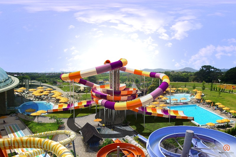 VR Launch of Polin's new Storm Racer Waterslide at IAAPA Expo