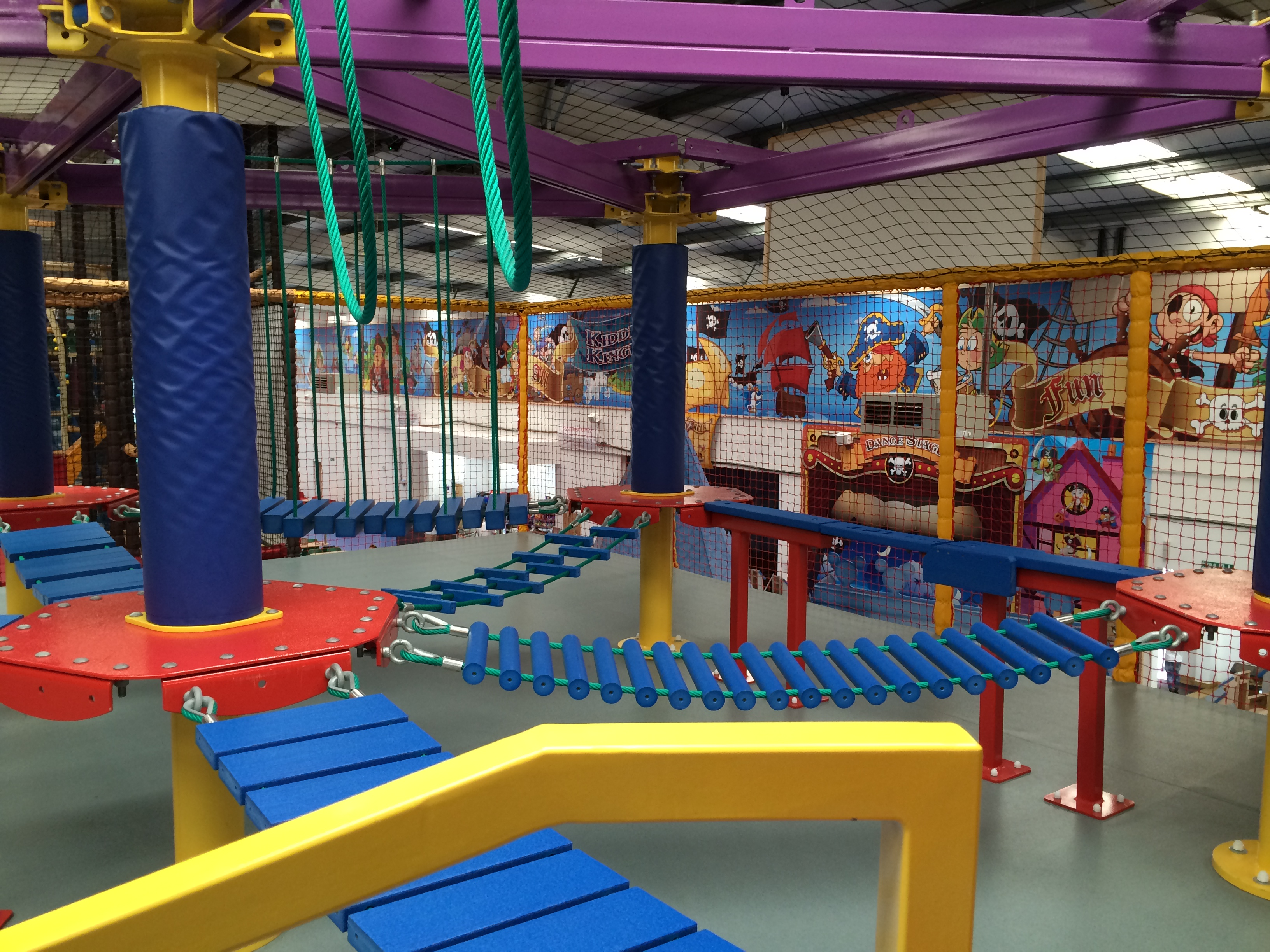 Sky Tykes Junior Ropes Course Innovative Leisure