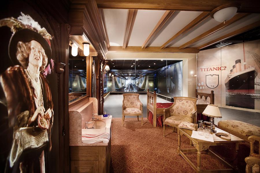 titanic belfast cabins interior