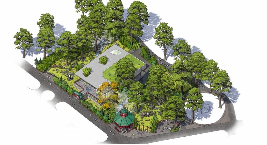 dan pearlman Experience Architecture Zoo Architects and Berlin Zoo unveil the new Panda Enclosure Design