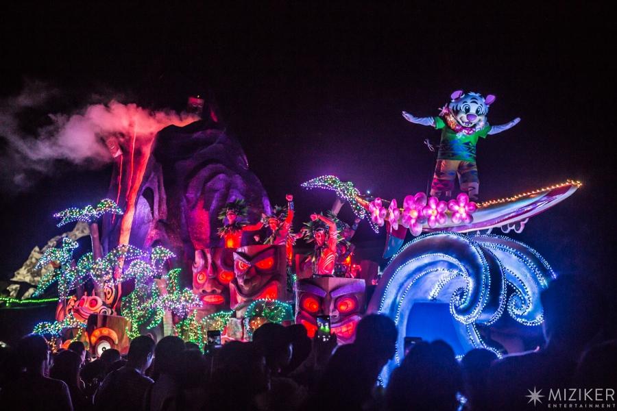 Miziker Entertainment Creates Journey of Light Parade for Chimelong Ocean Kingdom