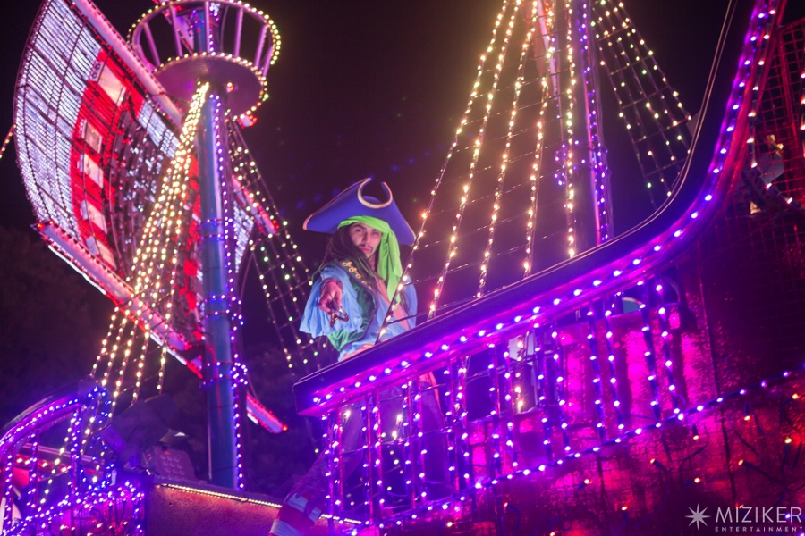 Miziker Entertainment Creates Journey of Light Parade for Chimelong Ocean Kingdom