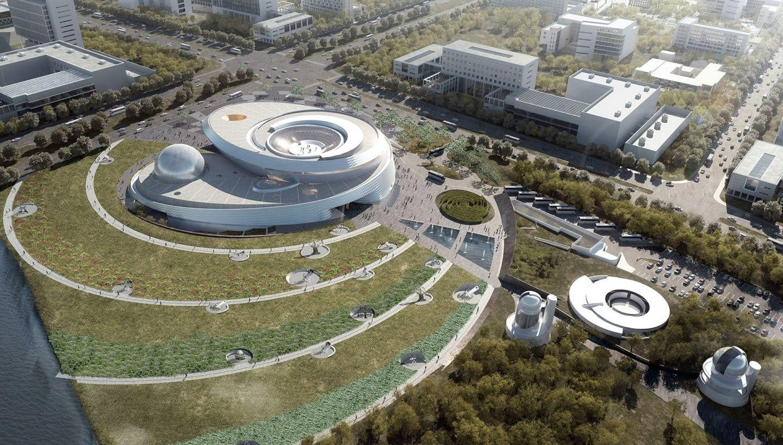 shanghai planetarium view