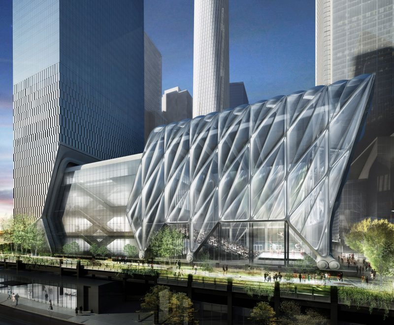 The Shed will create an adaptable and expandable cultural venue for New York